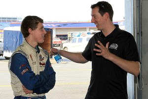 Kyle Busch and Reid Wilson