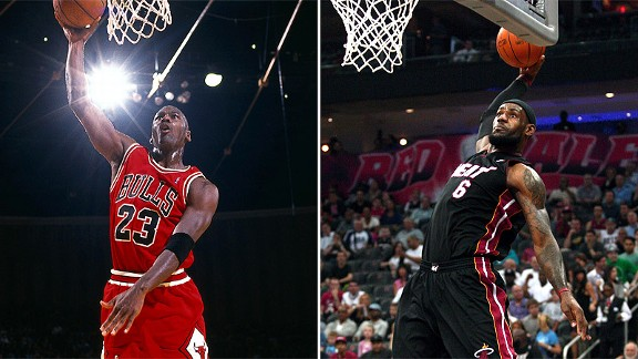 Michael Jordan/Lebron James