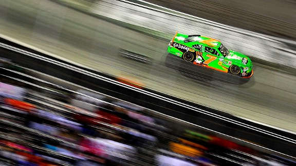 Danica Patrick started 34th but steadily moved up in the field and nailed down her second-best finish of the season. She was eighth at Texas.