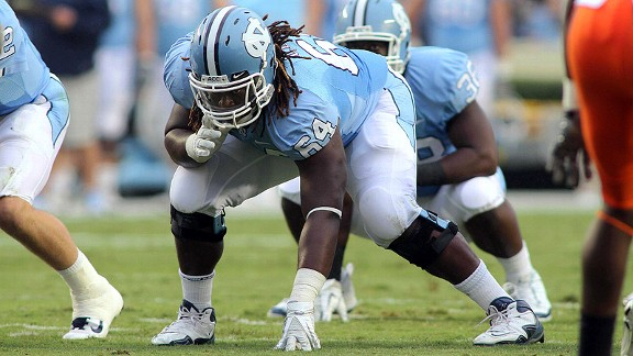 UNC's Jonathan Cooper has emerged as one of the nation's top offensive linemen.