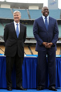 Mark Walter and Magic Johnson
