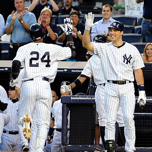 Robinson Cano and Mark Teixeira