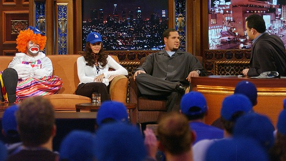 Eric Gagne and Jimmy Kimmel