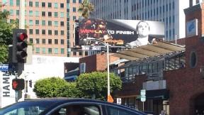 Matt Barkley billboard in Westwood, CA
