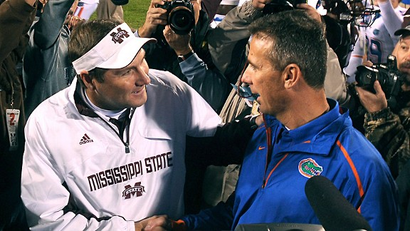 Dan Mullen and Urban Meyer
