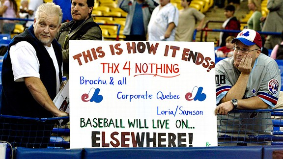 Expos Farwell Sign