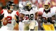 Matt Ryan, Mark Ingram, Pierre Garcon