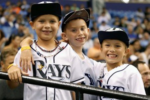 Tampa Bay Rays fans