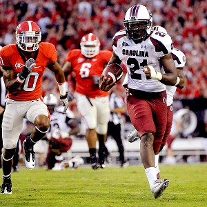 South Carolina's Marcus Lattimore
