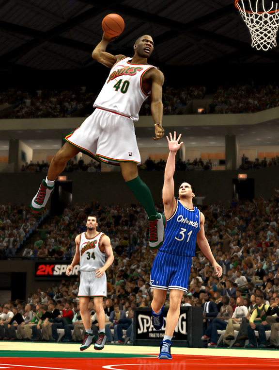 Shawn Kemp NBA 2K13