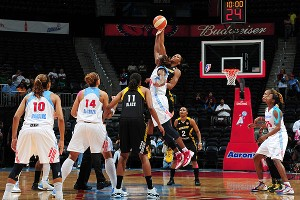 Atlanta Dream and Tulsa Shock
