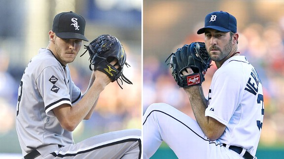 Chris Sale and Justin Verlander