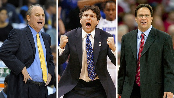 Ben Howland, Josh Pastner and Tom Crean