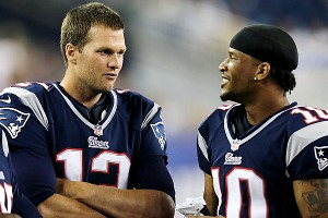 Tom Brady and Jabar Gaffney