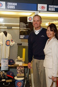 Ryne Sandberg and Margaret Ryan