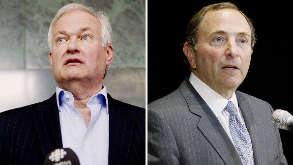 Donald Fehr and Gary Bettman