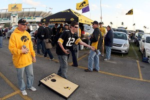Iowa Hawkeyes fans