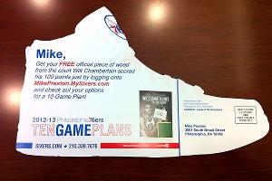 Philadelphia 76ers mailer