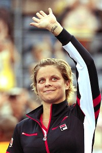 Kim Clijsters had the crowd cheering for her as she played her last singles match at the U.S. Open.