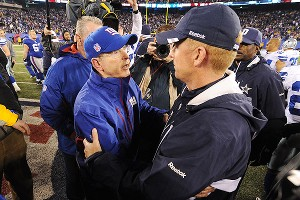 Tom Coughlin, Jason Garrett