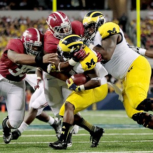 Denard Robinson and Alabama's defense