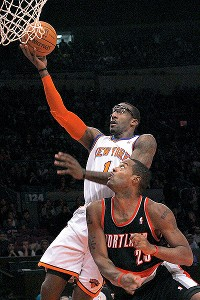 Amare Stoudemire and Marcus Camby