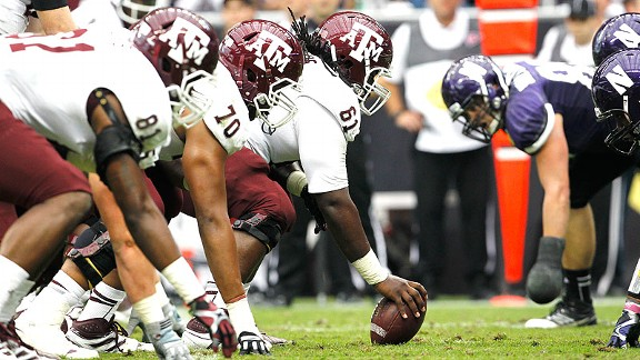 Texas A&M offensive line