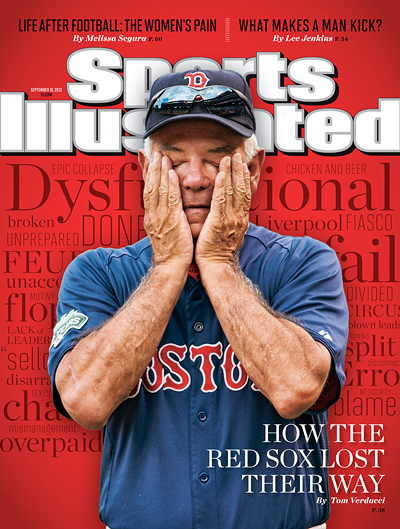 Bobby Valentine on Sports Illustrated cover