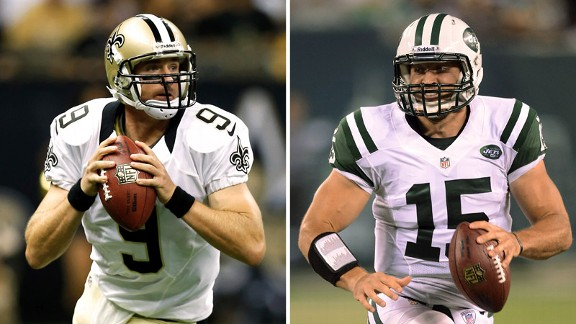 Drew Brees, Tim Tebow