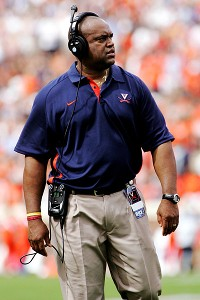 Virginia coach Mike London