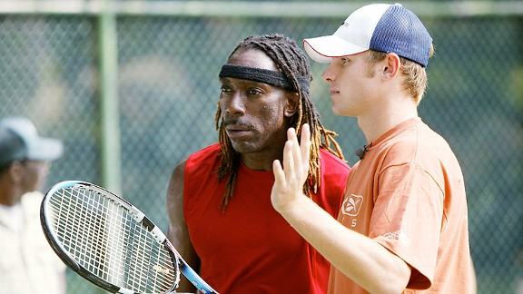 Andy Roddick and Boyd Tinsley
