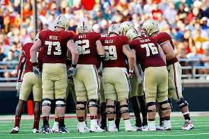 Boston College offensive line