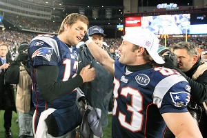 Tom Brady and Wes Welker