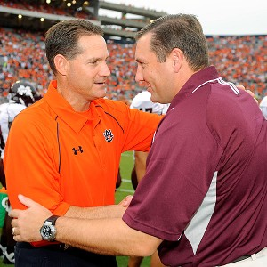 Gene Chizik and Dan Mullen