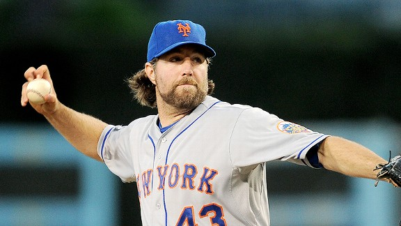 R.A. Dickey discusses 'Knuckleball!' film