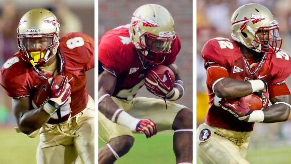 Devonta Freeman, Chris Thompson, James Wilder