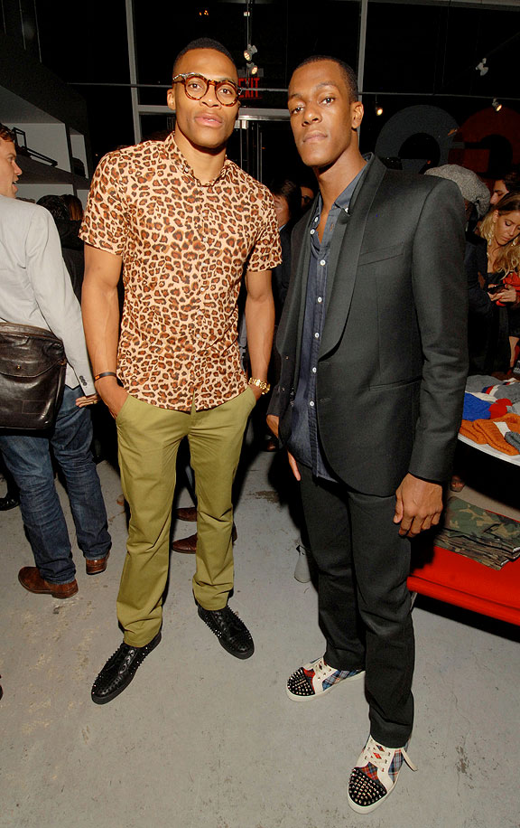 Rondo & Westbrook / Photo by Paul Warner/Getty Images for GQ)