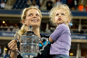 Kim Clijsters and Jada Lynch