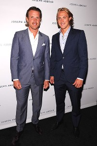 Brad Richards and Carl Hagelin