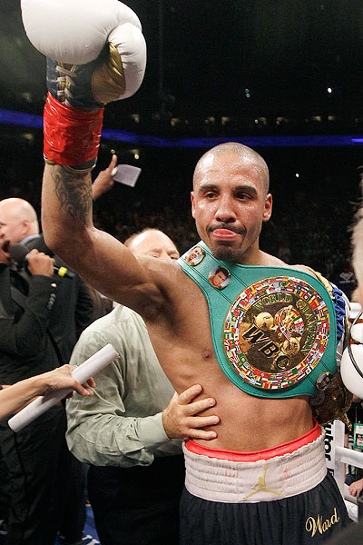 Andre Ward set for shoulder rehab