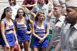 Florida cheerleaders 
