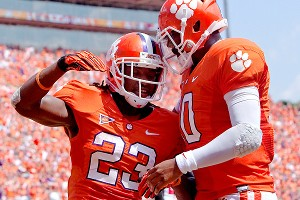 Clemson's Andre Ellington and Tajh Boyd