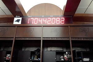 Buccaneers locker room