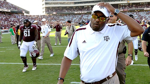 Texas A&M's Kevin Sumlin after losing to Florida