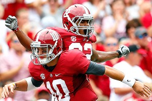 Christion Jones, AJ McCarron