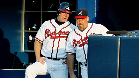 Fredi Gonzalez & Chipper Jones