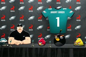 Eagles and Angry Birds