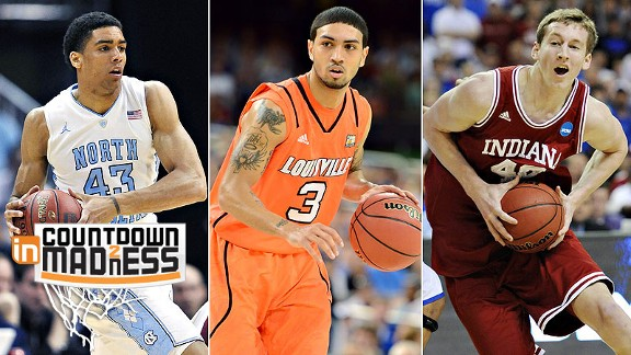 Michael McAdoo, Peyton Siva and Cody Zeller