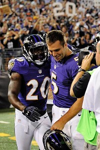 Ed Reed, Joe Flacco