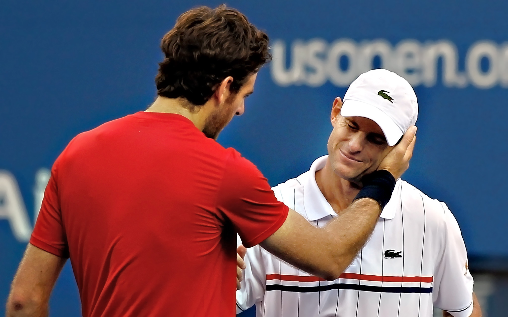 Juan Martin Del Potro and Andy Roddick